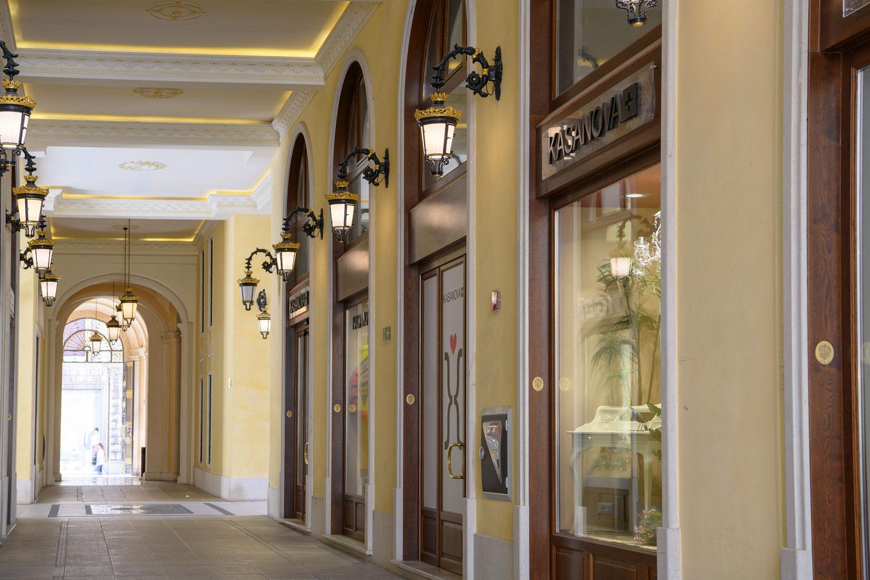 Palazzo Busetti vertine galleria