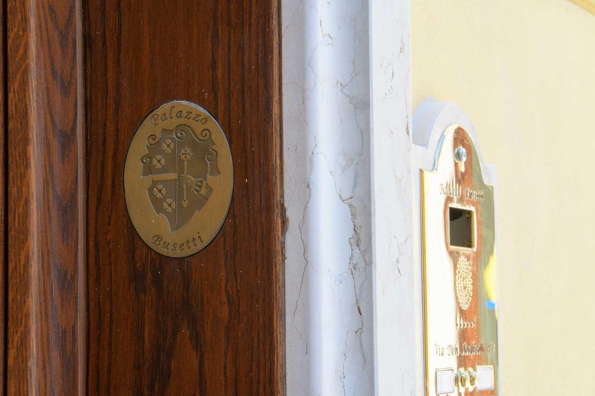 Palazzo Busetti ingresso residenze