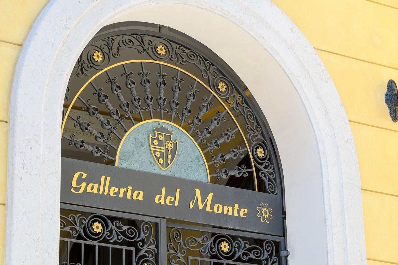 Palazzo Busetti particolare cancello galleria