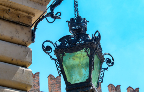 Palazzo Busetti lampione